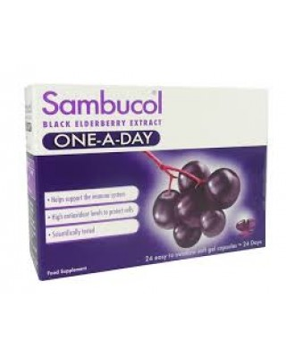 Sambucol Black Elderberry One-A-Day