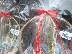 """Prizes for West Street """"Bunny Run"""" Easter 2012"""