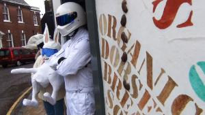 West Street meets Top Gear's  Stig!