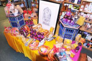 Showcasing our Indian products during Diwali India's Festival of Light 2013